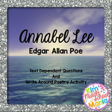 Annabel Lee Questions and Activity