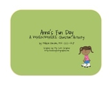 Anna's Fun Day: A Where and When Question Activity