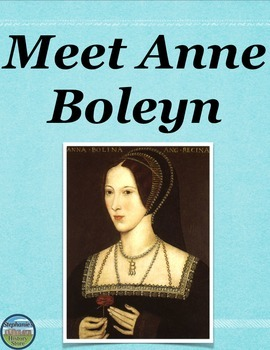 Anne Boleyn Reading Analysis and Creative Tasks