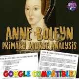 Anne Boleyn Letter to King Henry VIII Reading Worksheet