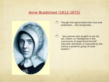 Anne Bradstreet: Biography Powerpoint