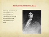 Anne Bradstreet: Biography Powerpoint