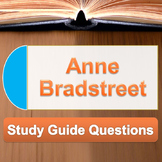 Anne Bradstreet - Dear and Loving Husband and Upon the Bur