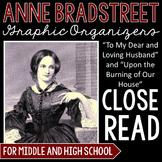 Anne Bradstreet Graphic Organizers