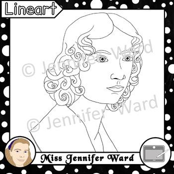 Anne Brontë Clipart