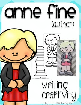 """Anne Fine """"Craftivity"""" Writing page (Author of  Big Red Balloon)"""