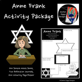 Anne Frank Activity Package- Sketch Notes, Holocaust Studies, Women's History