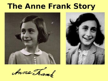 Anne Frank - An illustrated Guide and Quiz
