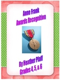 Anne Frank Awards Recognition