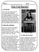 Anne Frank Biographical Article and Activities for ESL (CC