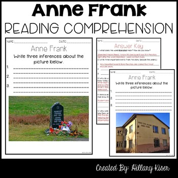 Leveled Text Y: Anne Frank