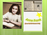 Anne Frank- Biography; graphic organizer, video clip, formative assessment