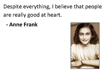 Anne Frank Comic Strip and Storyboard
