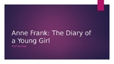 Anne Frank Comprehension Based Test Review