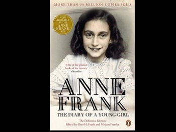 Anne Frank Diary of A Young Girl 141 Content Questions Whiteboard Game