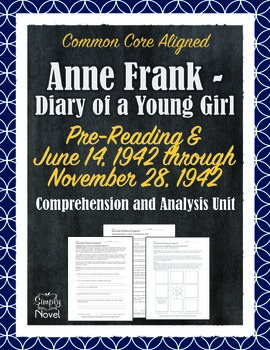 Anne Frank - Diary of a Young Girl: Section One Questions,