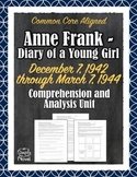 Anne Frank - Diary of a Young Girl - 1942 - 1944 Questions