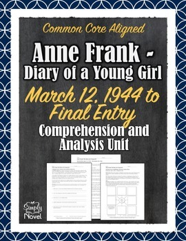 Anne Frank - Diary of a Young Girl May 1944 - End Question