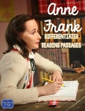 Anne Frank Differentiated Reading Passages