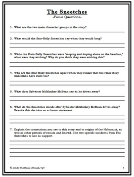 Anne Frank: Extension Activities