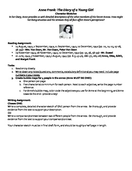 Anne Frank : Focus Lessons for Common Core Classrooms