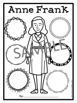 Anne Frank Graphic Organizers