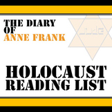 Anne Frank Holocaust Reading List
