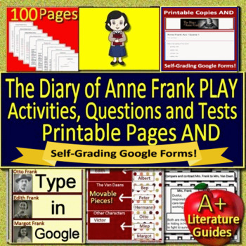 Anne Frank: The Diary of a Young Girl Review Game