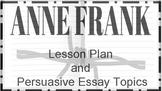 Anne Frank Lesson Plan