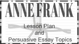 Anne Frank Lesson Plan