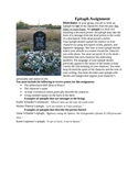 Anne Frank Play Epitaph Assignment