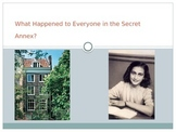 Anne Frank: Post Reading: What Happened to Everyone in the Secret Annex?