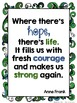 Anne Frank Quote Posters and Student Reflection