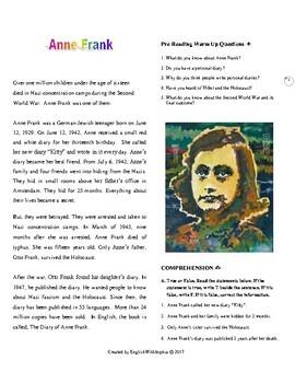 Anne Frank. Inspiring People Series.