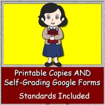 Anne Frank Test by A - PLUS Literature Guides | Teachers ...