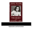 Anne Frank: The Diary of a Young Girl - Figurative Language Activity