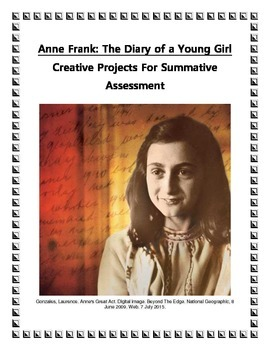 Anne Frank The Diary of a Young Girl Project