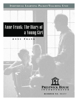 Anne Frank The Diary of a Young Girl Teaching Unit