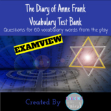 Anne Frank The Play Vocabulary Test Bank