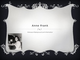 Anne Frank Unit PowerPoint