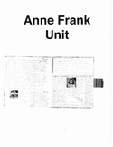 Anne Frank Unit for Middle School/High School