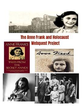 Anne Frank Webquest