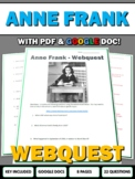 Anne Frank - Webquest with Key (Holocaust)