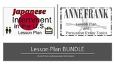 Anne Frank and Japanese Internment Camps Lesson Plan (BUNDLE)