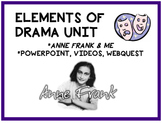 Anne Frank and Me / Elements of Drama Unit and PowerPoint