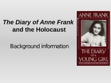 Anne Frank and the Holocaust background information