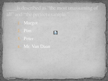 Anne Frank: the Diary of a Young Girl PowerPoint Review