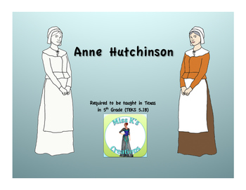 Anne Hutchinson Clip Art