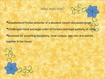 Anne Hutchinson PowerPoint