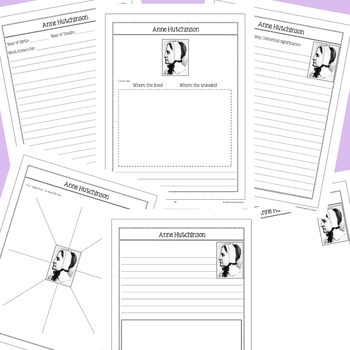 Anne Hutchinson - U.S. History Notebooking Project